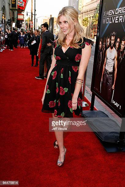 Actress Diora Baird arrives on the red carpet of the Los Angeles industry screening of 'XMen Origins Wolverine' at the Grauman's Mann Chinese Theater...