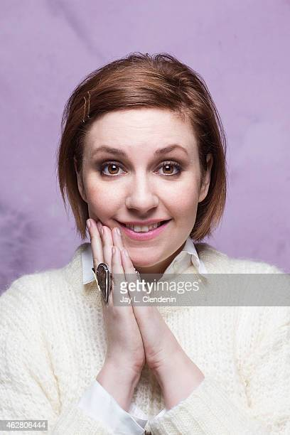 Actress director and author Lena Dunham is photographed for Los Angeles Times on January 24 2015 in Park City Utah PUBLISHED IMAGE CREDIT MUST READ...