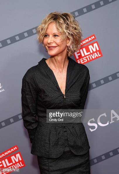 Actress director Meg Ryan attends her Lifetime Award Presentation and 'Ithaca' screening during 18th Annual Savannah Film Festival Presented by SCAD...