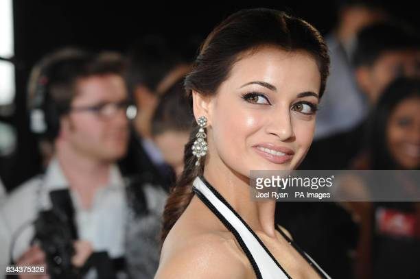 Actress Diya Mirza arrives at the Zee Cine Awards 2008 ExCel Docklands in east London