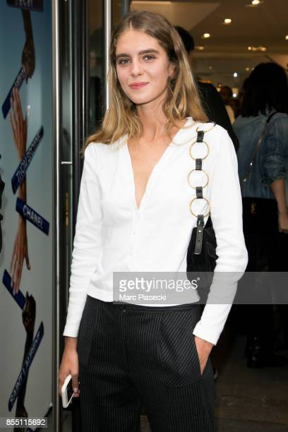Actress Dolores Doll is seen on September 28 2017 in Paris France
