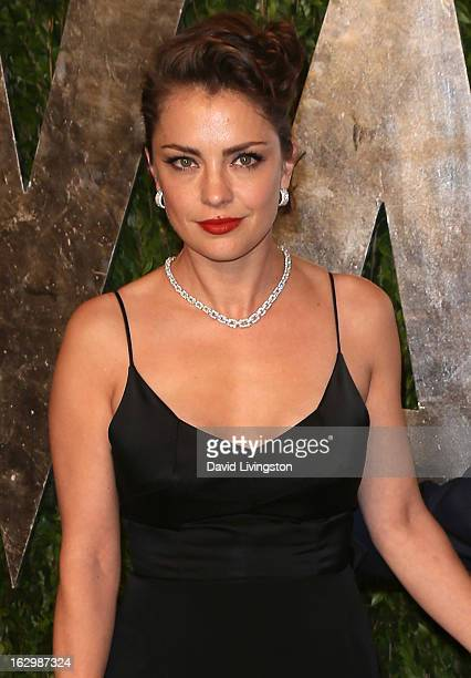 Actress Dolores Fonzi attends the 2013 Vanity Fair Oscar Party at the Sunset Tower Hotel on February 24 2013 in West Hollywood California
