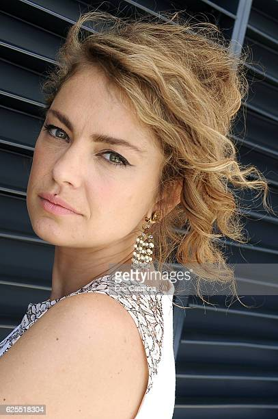 Actress Dolores Fonzi is photographed for Self Assignment on May 16 2016 in Cannes France