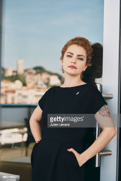 Actress Dolores Fonzi is photographed for Self Assignment on May 24 2017 in Cannes France