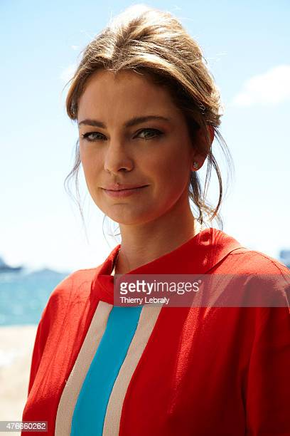 Actress Dolores Fonzi is photographed on May 16 2015 in Cannes France