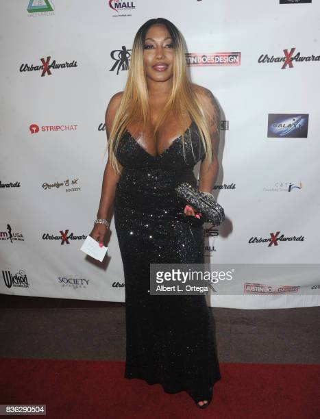 Actress Dominik Sloan arrives for the 6th Urban X Awards held at Stars On Brand on August 20 2017 in Glendale California