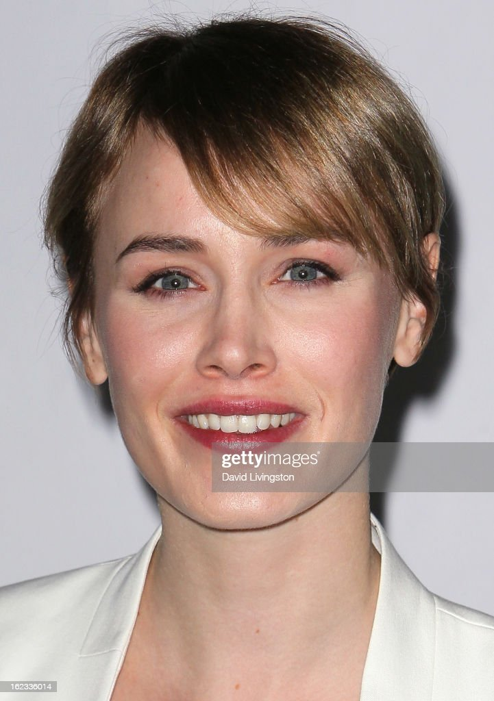 Actress Dominique McElligott attends the 8th Annual 'Oscar Wilde: Honoring The Irish In Film' Pre-Academy Awards Event at Bad Robot on February 21, 2013 in Santa Monica, California.