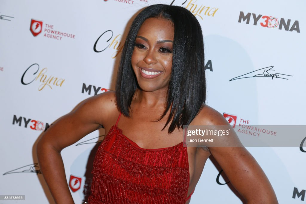 Actress Dominique Perry attends Blac Chyna Figurine Doll Launch on August 17, 2017 in Los Angeles, California.