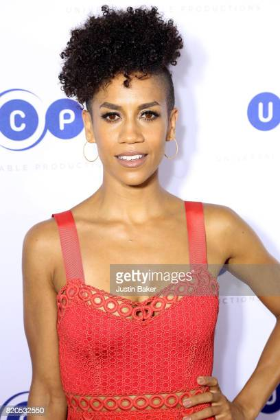Actress Dominique Tipper attends Universal Cable Productions Annual ComicCon Celebration at Omnia Nightclub on July 21 2017 in San Diego California