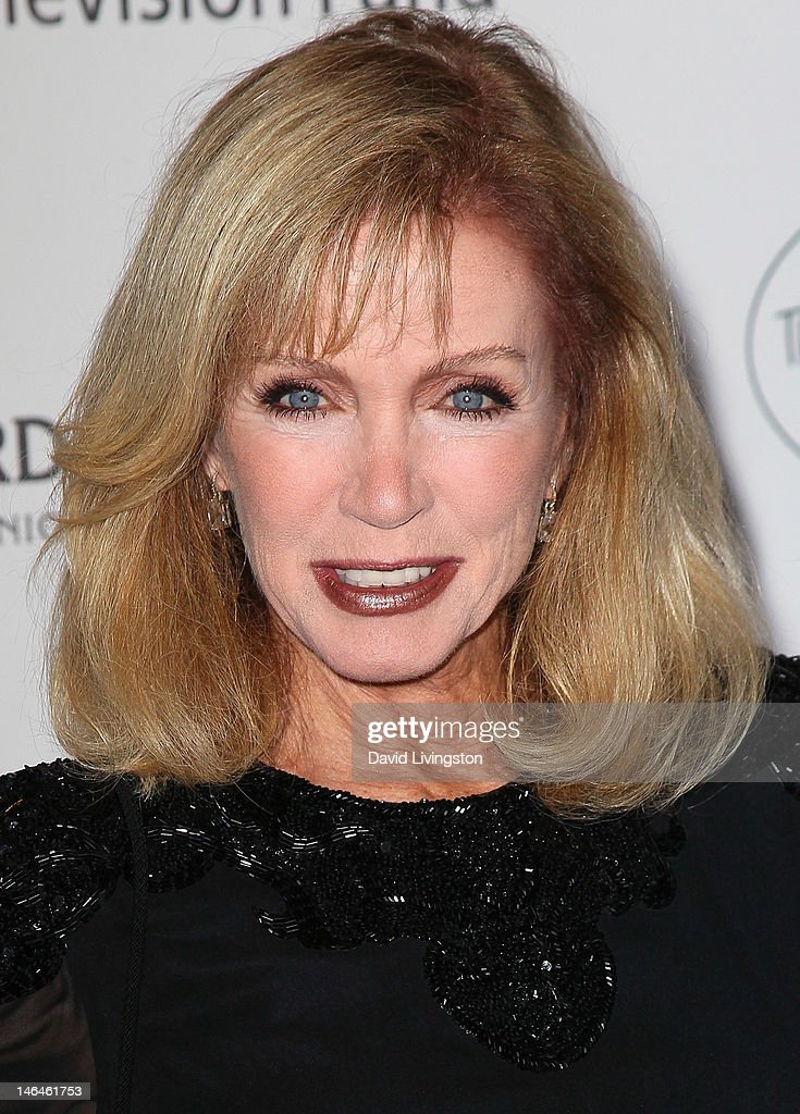 Actress <a gi-track='captionPersonalityLinkClicked' href=/galleries/search?phrase=Donna+Mills&family=editorial&specificpeople=217252 ng-click='$event.stopPropagation()'>Donna Mills</a> attends an intimate cocktail celebration hosted by Brett Ratner in conjunction with the 100th anniversary celebration of The Beverly Hills Hotel at The Beverly Hills Hotel on June 16, 2012 in Beverly Hills, California.