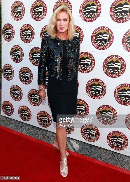 Actress Donna Mills attends the 2010 Festival of Arts/Pageant of the Masters gala on August 28 2010 in Laguna Beach California