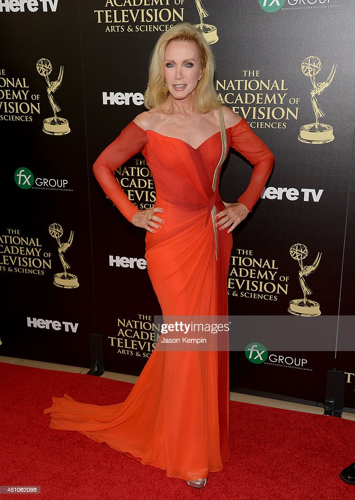 Actress Donna Mills attends The 41st Annual Daytime Emmy Awards at The Beverly Hilton Hotel on June 22, 2014 in Beverly Hills, California.