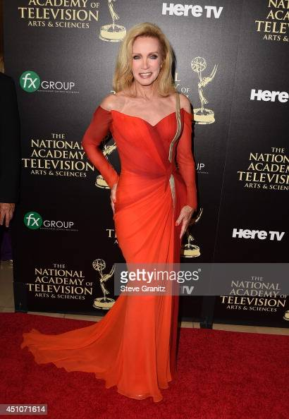 Actress Donna Mills attends The 41st Annual Daytime Emmy Awards at The Beverly Hilton Hotel on June 22 2014 in Beverly Hills California