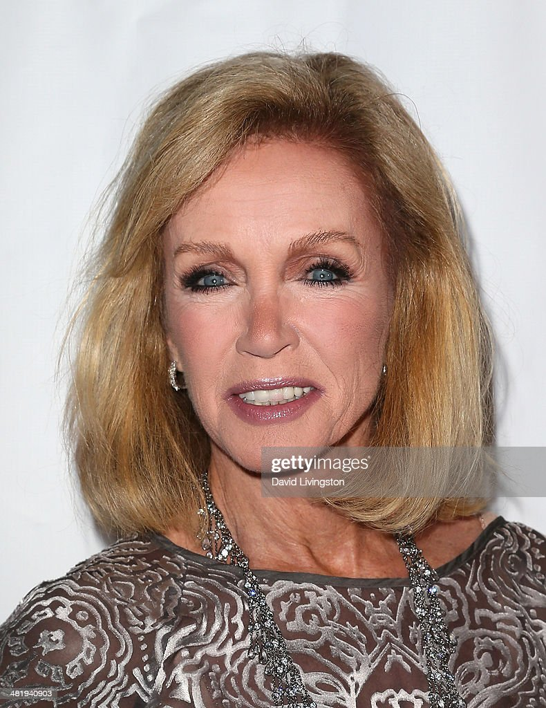 Actress Donna Mills attends the premiere of Screen Media Films' '10 Rules for Sleeping Around' at the Egyptian Theatre on April 1, 2014 in Hollywood, California.