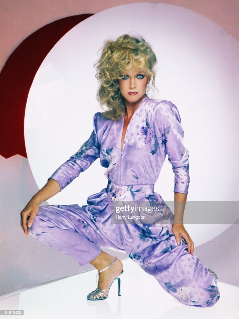Actress Donna Mills poses for a portrait circa 1985 in Los Angeles, California.