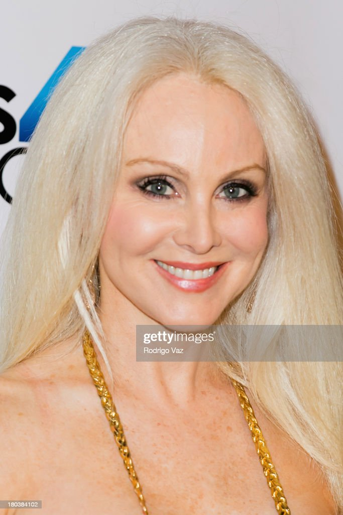 Actress <a gi-track='captionPersonalityLinkClicked' href=/galleries/search?phrase=Donna+Spangler&family=editorial&specificpeople=828469 ng-click='$event.stopPropagation()'>Donna Spangler</a> arrives at Cops 4 Causes hosts 2nd Annual 'Heroes Helping Heroes' Benefit Concert at House of Blues Sunset Strip on September 11, 2013 in West Hollywood, California.