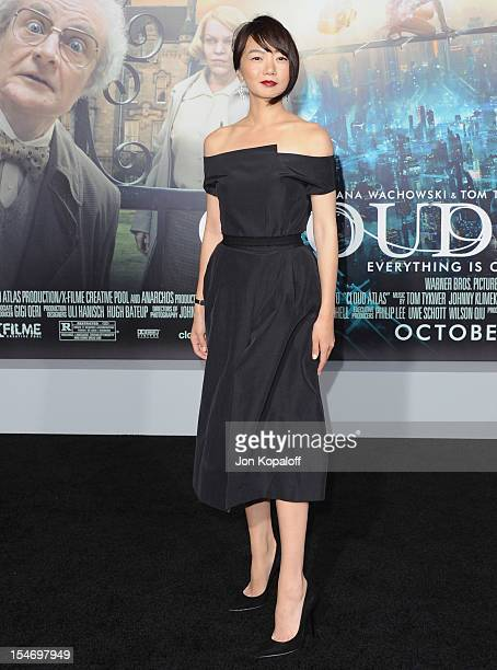 Actress Doona Bae arrives at the Los Angeles Premiere 'Cloud Atlas' at Grauman's Chinese Theatre on October 24 2012 in Hollywood California