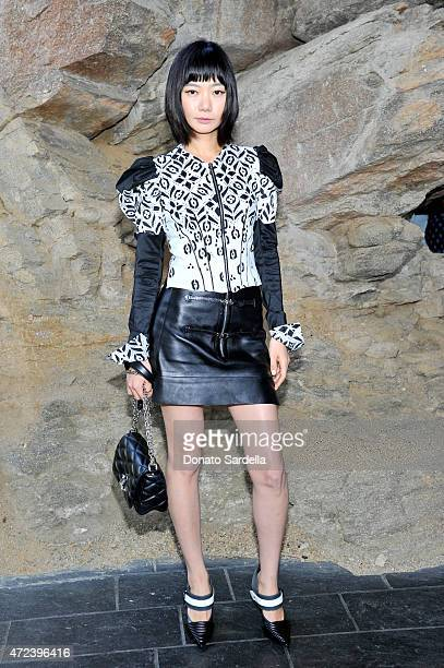 Actress Doona Bae attends the Louis Vuitton Cruise 2016 Resort Collection shown at a private residence on May 6 2015 in Palm Springs California