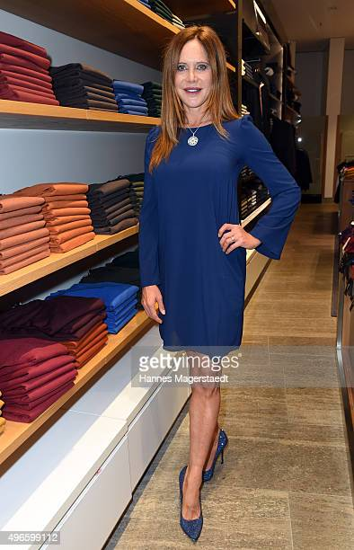 Actress Doreen Dietel attends the 'HIRMERS First Ladies Night' on November 10 2015 in Munich Germany