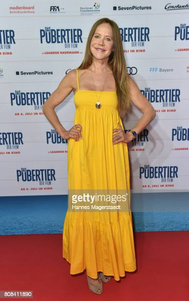 Actress Doreen Dietel during the ''Das Pubertier'' premiere at Mathaeser Filmpalast on July 4 2017 in Munich Germany