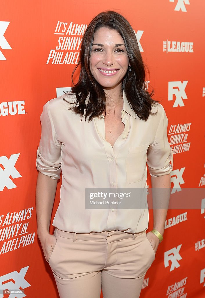 Actress Dorian Brown attends the premiere and launch party for FXX Network's 'It's Always Sunny In Philadelphia' and 'The League' at Lure on September 3, 2013 in Hollywood, California.