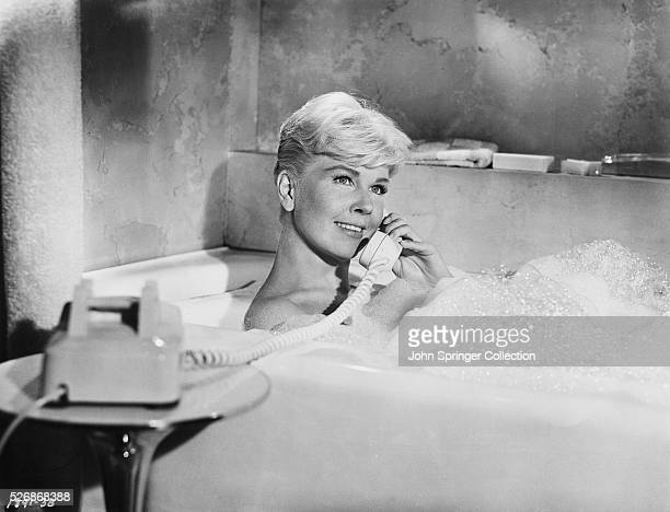 Actress Doris Day in a Scene from the Film Pillow Talk
