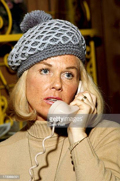 Actress Doris Day on the phone on May 101970 in Hollywood California