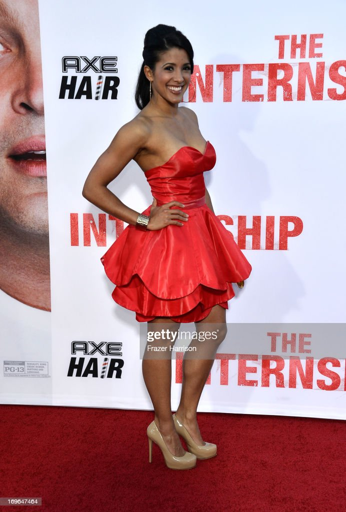 Actress Doris Morgado arrives at the Premiere Of Twentieth Century Fox's 'The Internship' on May 29, 2013 in Westwood, California.