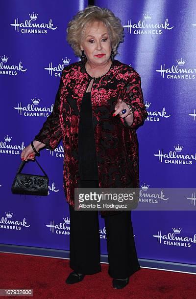 Actress Doris Roberts arrives to Hallmark Channel's 2011 TCA Winter Tour Evening Gala on January 7 2011 in Pasadena California