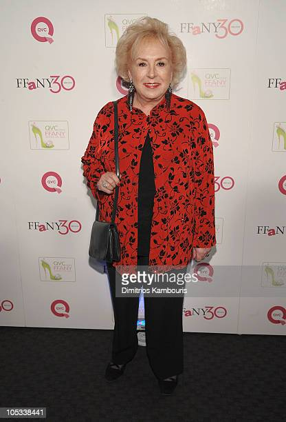 Actress Doris Roberts attends 'FFANY Shoes on Sale' Benefit for Breast Cancer Research and Education presented by QVC at Frederick P Rose Hall Jazz...
