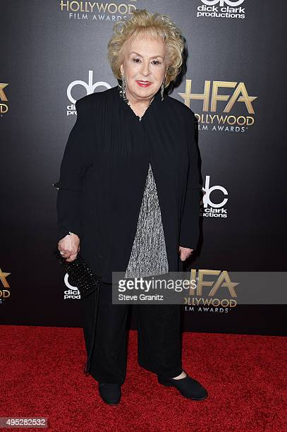 Actress Doris Roberts attends the 19th Annual Hollywood Film Awards at The Beverly Hilton Hotel on November 1 2015 in Beverly Hills California