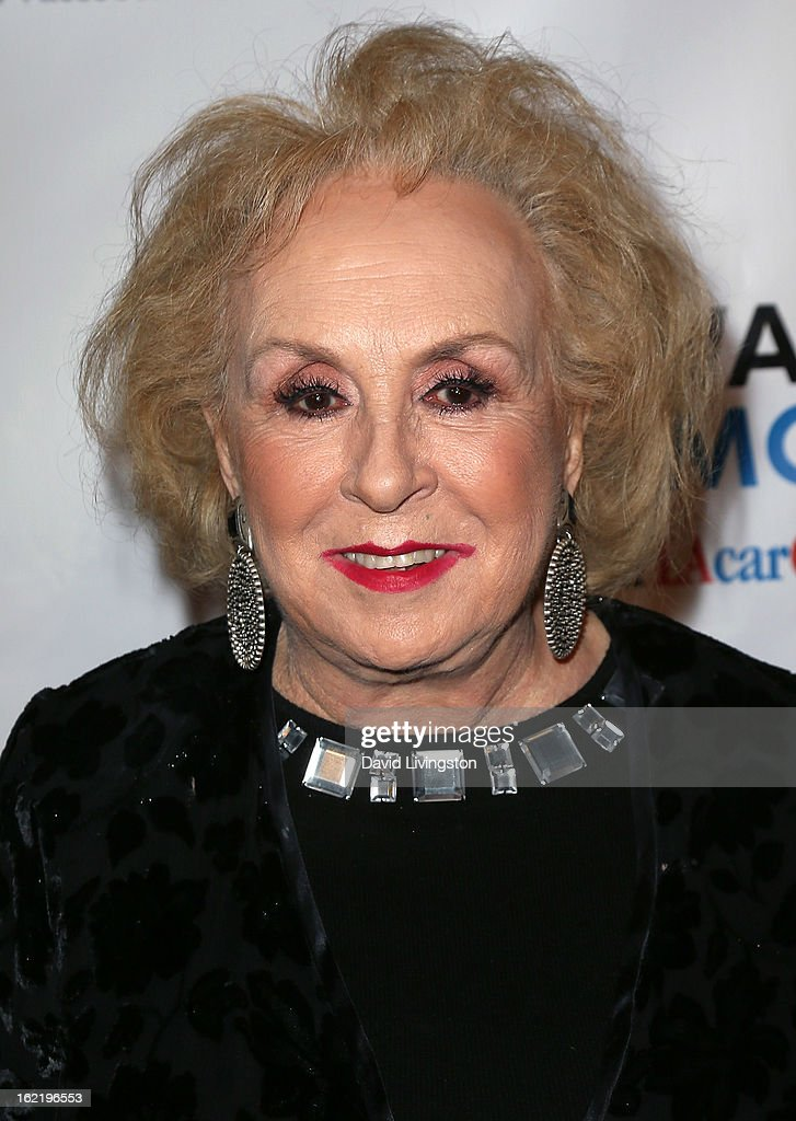 Actress <a gi-track='captionPersonalityLinkClicked' href=/galleries/search?phrase=Doris+Roberts&family=editorial&specificpeople=209247 ng-click='$event.stopPropagation()'>Doris Roberts</a> attends the 6th Annual Toscar Awards at the Egyptian Theatre on February 19, 2013 in Hollywood, California.