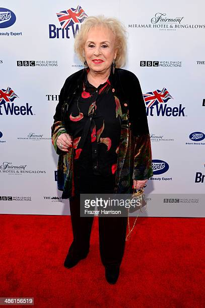Actress Doris Roberts attends the 8th Annual BritWeek Launch Party at a private residence on April 22 2014 in Los Angeles California
