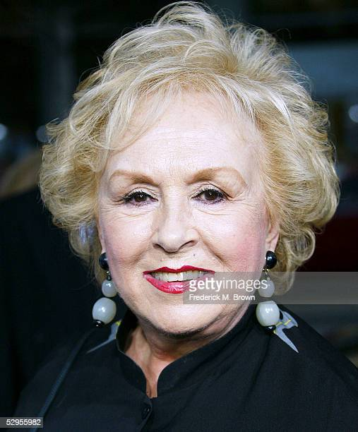 Actress Doris Roberts attends the film premiere of The Longest Yard at Graumans Chinese Theater on May 19 2005 in Hollywood California