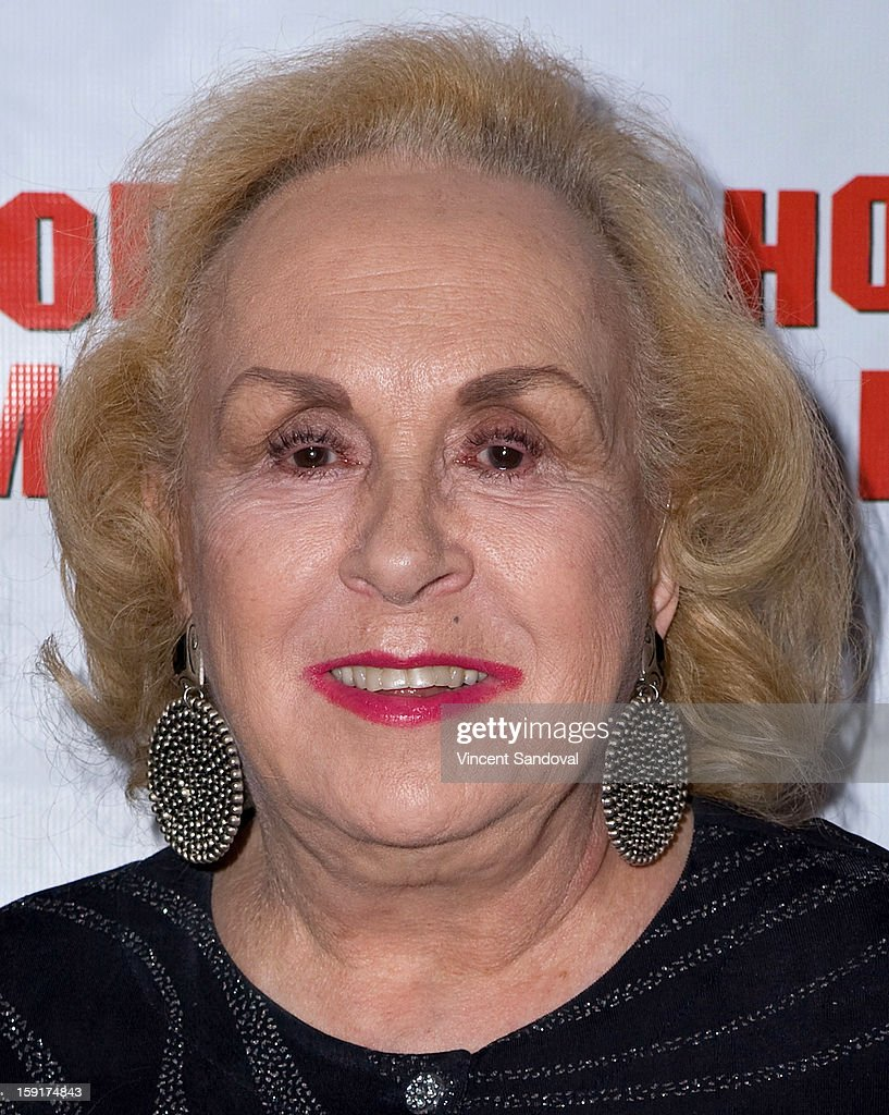Actress <a gi-track='captionPersonalityLinkClicked' href=/galleries/search?phrase=Doris+Roberts&family=editorial&specificpeople=209247 ng-click='$event.stopPropagation()'>Doris Roberts</a> attends The Hollywood Museum's 'Loretta Young: Hollywood Legend' exhibit opening party at The Hollywood Museum on January 8, 2013 in Hollywood, California.