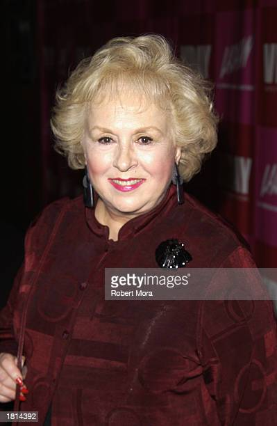 Actress Doris Roberts attends 'VDay LA 2003' benefitting VDay and The Los Angeles Commission on Assaults Against Women at the Directors Guild Theatre...