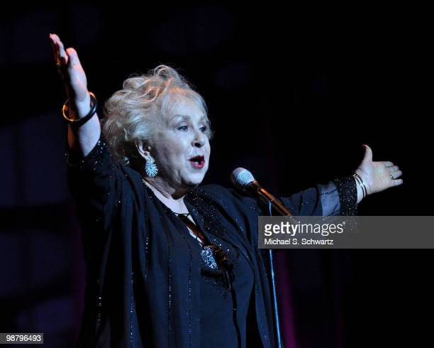 Actress Doris Roberts hosts the Children Affected by Aids Foundation's 'A Night of Comedy' at Saban Theatre on May 1 2010 in Beverly Hills California