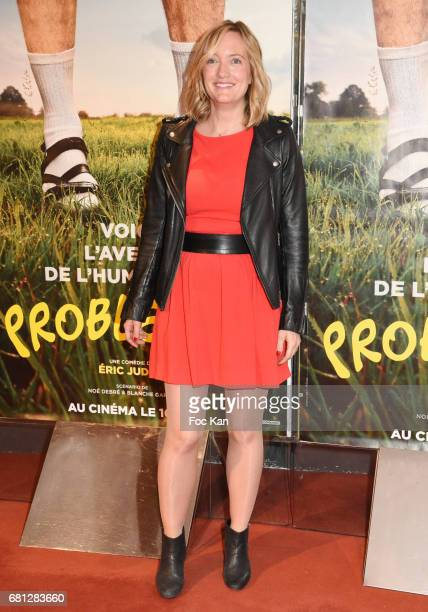 Actress Dorothee Pousseo attends 'Problemos' Paris Premiere At UGC Cine Cite Les Halles on May 9 2017 in Paris France