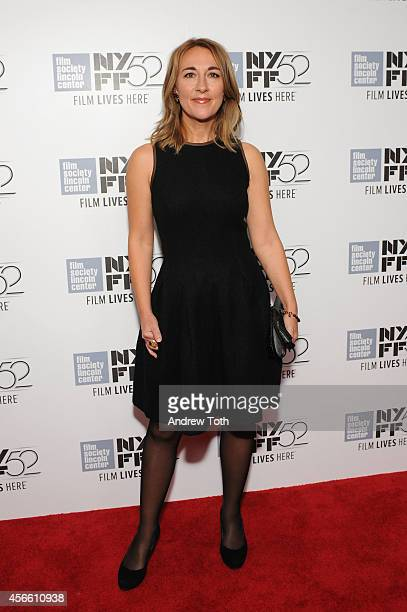 Actress Dorothy Atkinson attends the 'Mr Turner' premiere during the 52nd New York Film Festival at Alice Tully Hall on October 3 2014 in New York...