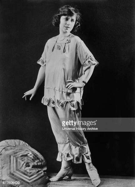 Actress Dorothy Phillips Fashion Portrait Bain News Service 1921