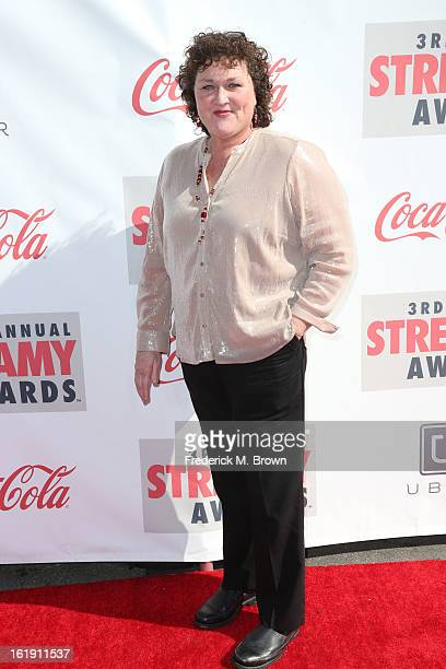 Actress Dot Jones attends the 3rd Annual Streamy Awards at Hollywood Palladium on February 17 2013 in Hollywood California