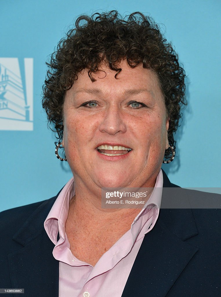Actress Dot Marie Jones arrives to The Academy of Television Arts & Sciences' screening of Fox's 'Glee' at Leonard Goldenson Theatre on May 1, 2012 in North Hollywood, California.