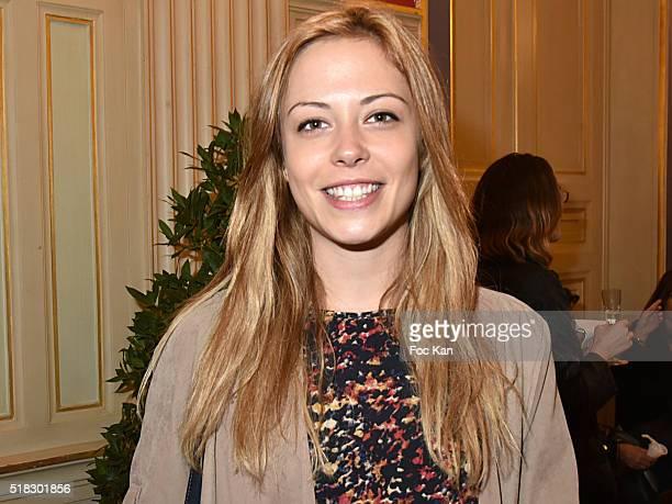 Actress Dounia Coesens from Plus Belle La Vie TV serial attends '10eme Rencontres Internationales de Cinema de Patrimoine 2016' Opening Ceremony at...