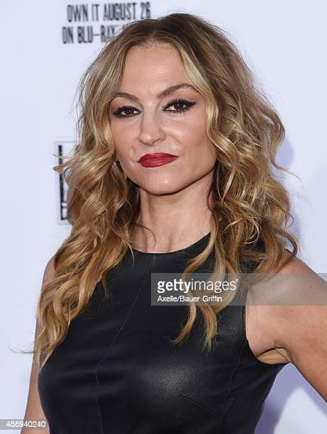 Actress Drea de Matteo arrives at FX's 'Sons Of Anarchy' premiere at TCL Chinese Theatre on September 6 2014 in Hollywood California