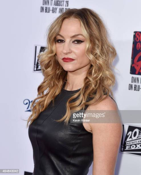 Actress Drea De Matteo arrives at the season 7 premiere screening of FX's 'Sons of Anarchy' at the Chinese Theatre on September 6 2014 in Los Angeles...