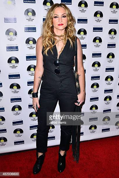 Actress Drea de Matteo attends the Los Angeles Premiere of 'The Distortion of Sound' at The GRAMMY Museum on July 10 2014 in Los Angeles California