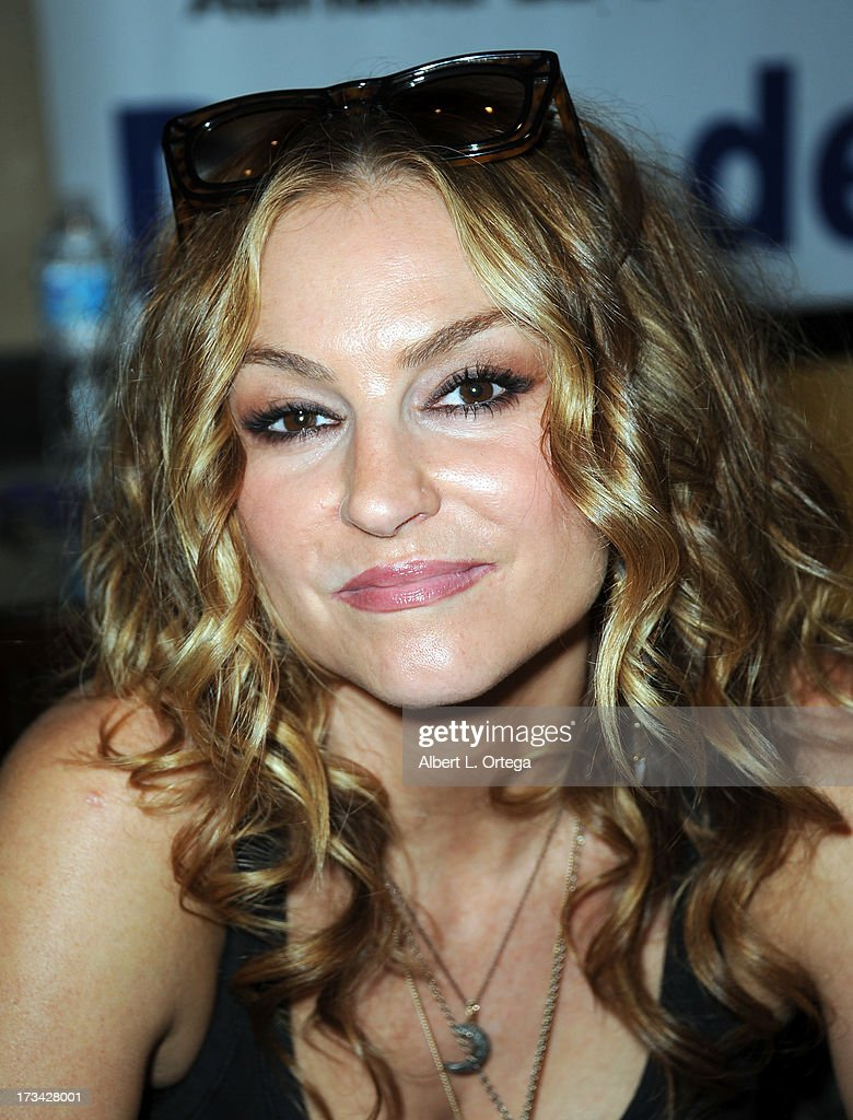 Actress Drea de Matteo participates in The Hollywood Show held at Westin LAX Hotel on July 13, 2013 in Los Angeles, California.