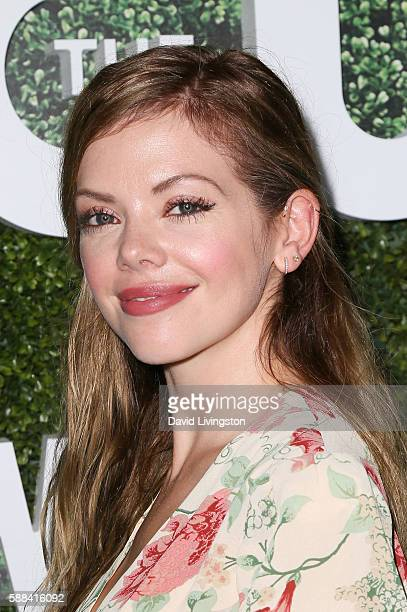 Actress Dreama Walker arrives at the CBS CW Showtime Summer TCA Party at the Pacific Design Center on August 10 2016 in West Hollywood California