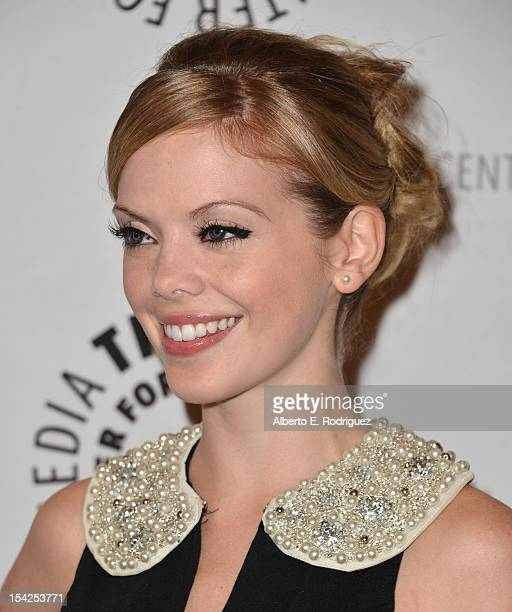 Actress Dreama Walker arrives to The Paley Center For Media's An Evening With 'Happy Endings' and 'Don't Trust the B In Apartment 23' at The Paley...