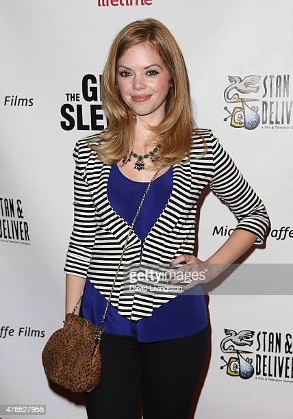 Actress Dreama Walker attends a screening of the Lifetime original movie 'The Grim Sleeper' at the American Film Institute on March 13 2014 in Los...